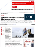 Wikileaks.tisa (Trade in Services Agreement).Italiano