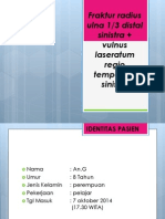 Fraktur radius Ulna 1/3 Distal