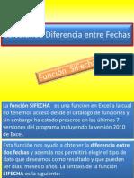 Calculando Diferencia Entre Fechas
