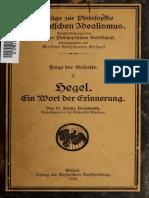 Hegel e in Wort Dere 00 Heim