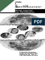 Revista Plenilunio No. 58. Dic. 2014