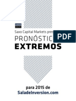 Pronósticos Extremos 2015 Saladeinversion