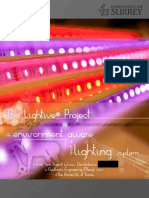 Lightive - Eviroment Aware Lighting System - Project Report Louis Christodoulou