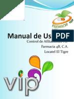 Manual Básico de Usuario Afiliaciones VIP