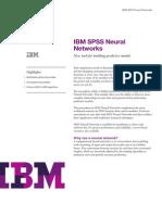 IBM Spss Neural Networks