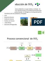 Producción de NH 3 (1)
