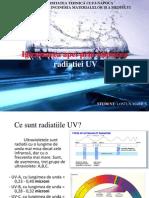 Igienizarea Apei Folosind Radiatiile UV