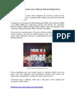 Manifesto Para Uma Ciência Pós-materialista