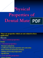 Physical Properties of Dental Materials M&A