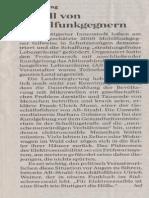 Suttgarter Zeitung zur Demo