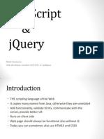 Online Seminar - JavaScript & JQuery