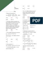 Semana 3 Ecuaciones Lineales y Cuadráticas, Inecuaciones Lineales y Cuadráticas Ciclo PREUNMSM 2014 I