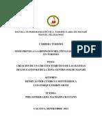 Tesis Creación de Un Circuito Turístico de Las Iglesias de Los Cantones de La Zona Centro-sur De