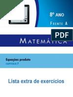 Complemento - Lista Extra Matemática - 8º ano - Livro 2 - Capítulo 07 FA.pdf