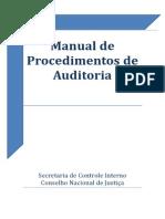 Manual de procedimentos de auditoria Sci Cnj 2014