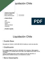 Liquidación Chile
