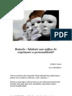 Hainele - Falsitate Sau Mijloc de Exprimare a Personalitatii