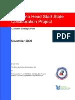 Louisiana Head Start State Collaboration Office 12-Month Strategic Plan