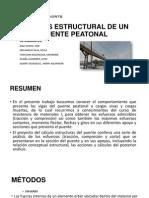 Analisis Estructural de Un Puente Peatonal