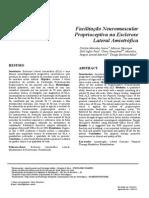 Facilitação Neuromuscular Proprioceptiva na Esclerose Lateral Amiotrófica