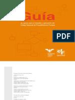 Guia de Apoyo Para El Estudio y Aplicacion Del Codigo Nacional de Procedimientos Penales