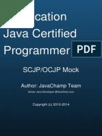 Sun Certified Java Programmer Scjp Exam