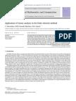 Application Tensor Analysis Fem