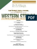 Western Strings PROGRAM