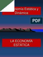 Economia Estatica y Dinamica