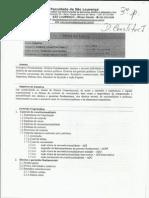 Plano de Ensino - Direito Constitucional i