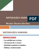 Naturaleza Humana y Teleología de La Educación