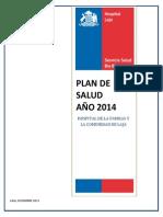 Plan de Salud Hfc de Laja 2014
