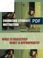 Enhancing Students's Motivation
