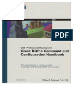 Cisco Press - Ccie - Cisco Bgp-4 Command and Configuration Handbook