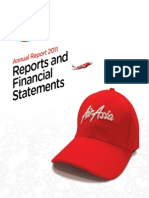 Annual Report Financials 2011
