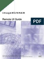 Canon MFP Remote UI Guide