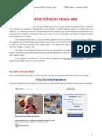 Comparte fotos con PicasaWeb