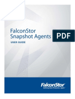 Snapshot Agents User Guide