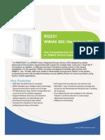 RG231 Datasheet V1.0