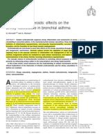 Non Genomic Action of ICS