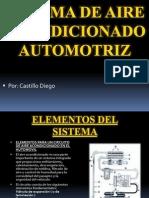 Sistema de Aire Acondicionado Automotriz
