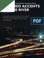 p28-31 Luminous 3-09 Octavio Frias de Oliveira Bridge Sao Paulo Brazil