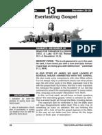4th Quarter 2014 Lesson 13 Easy Reading Edition the Everlasting Gospel