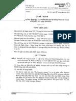 QD 5270 Sua Doi Bo Sung Quy Dinh Dich Vu Chuyen Tien Qua He Thong Western Union Ma So QD DV 019 Ngay 31-8-2012