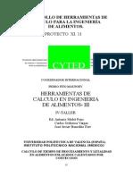 CALCULO DE TIEMPO DE PROCESAMIENTO Y LETALIDAD EN ALIMENTOS ENLATADOS CALENTADOS POR CONVECCION - copia.doc