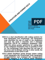 Structure and Format Icd-o