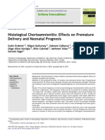 Chorioamnitis and Preterm