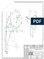 Plano de álabe Directriz para Turbina Ossberger
