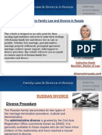 Family Law and Divorce lawyers in Russia