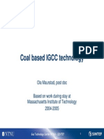 IGCC - Integrated Gasification Combined Cycle